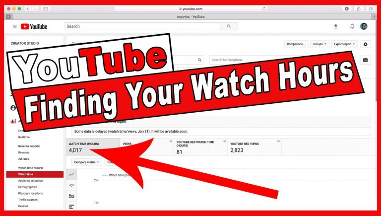 YouTube Channel Watch Time Hours - FOR 100 - 1000 - 2000 ...